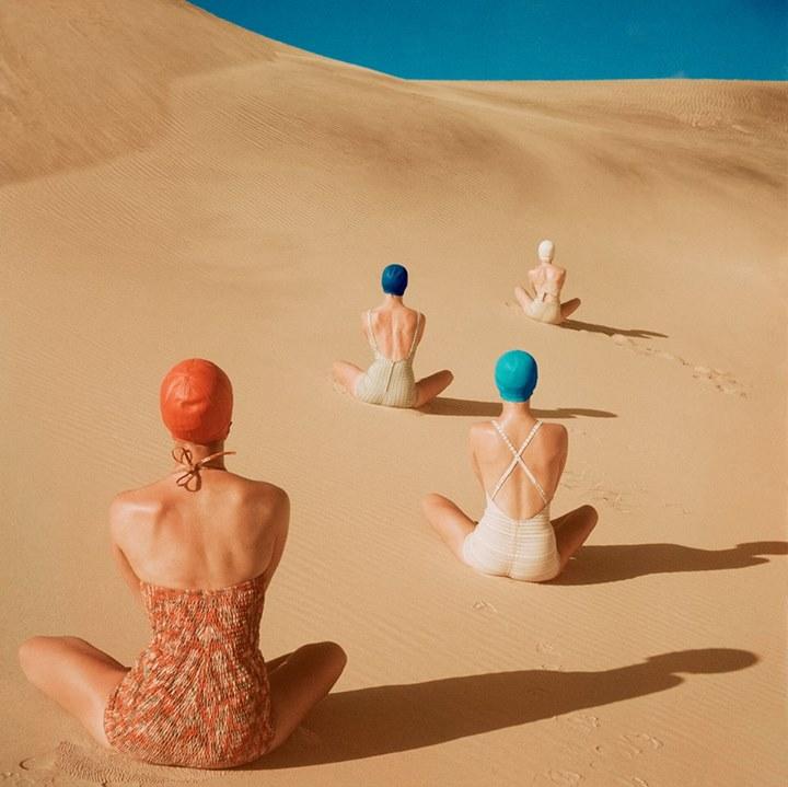 Vogue Like Painting, la exposición que muestra fotos al estilo de pinturas