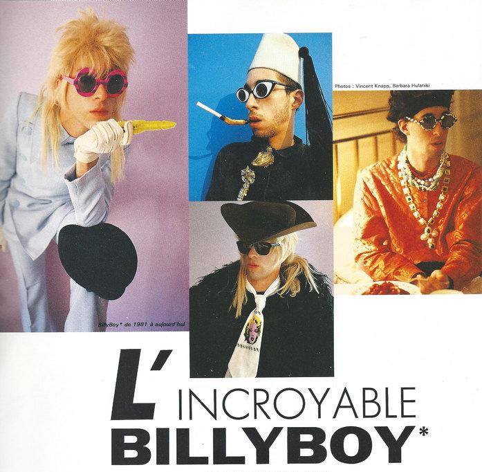 BillyBoy*, el diseñador y coleccionista que encandiló los '80