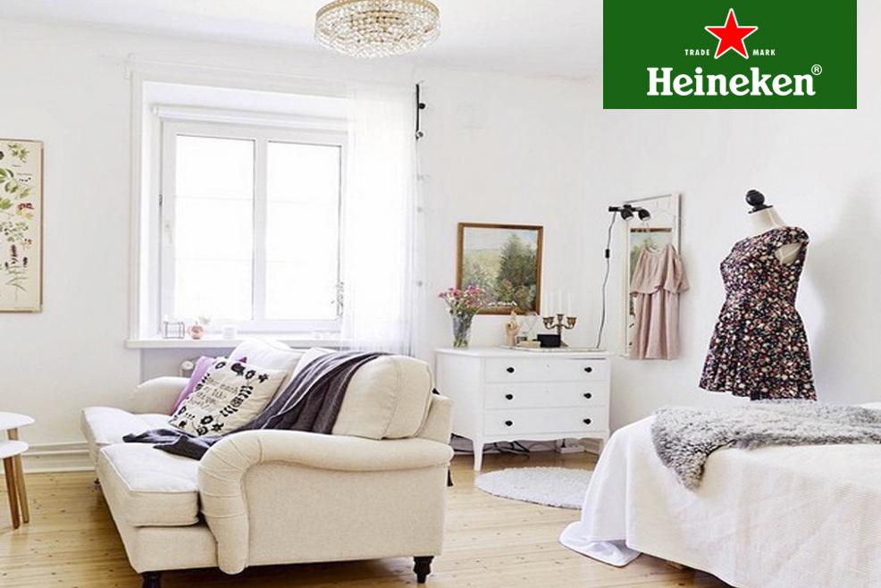Estrechez Decoración, una cuenta de Instagram con ideas para pequeños espacios #HeinekenLife