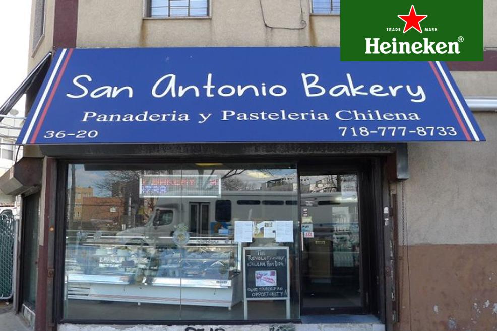 #HeinekenLife: San Antonio Bakery, un rincón para deleitar el paladar chileno en Nueva York