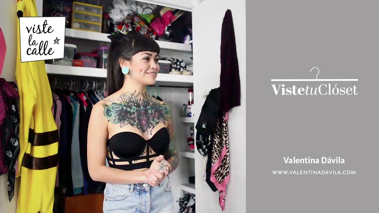 VisteTuClóset: Valentina Dávila