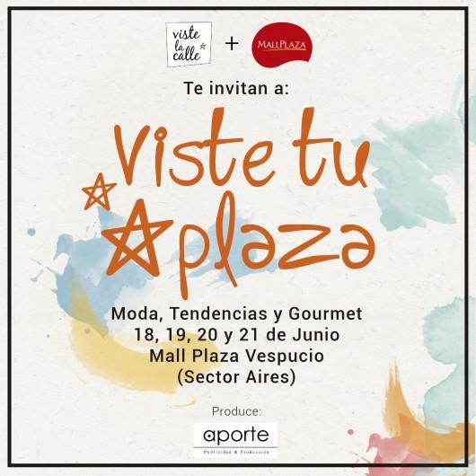 ¡Los invitamos a descubrir una segunda versión de VisteTuPlaza, esta vez en Mall Plaza Vespucio!