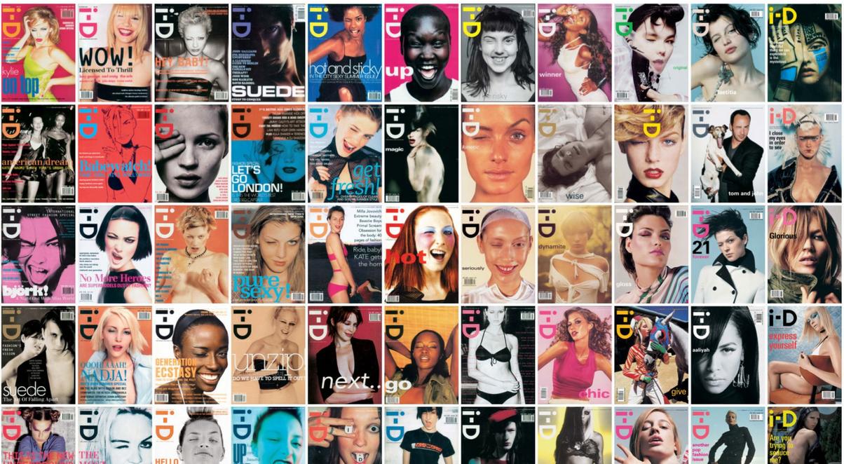 Cultura, street style y moda en los 35 años de i-D Magazine