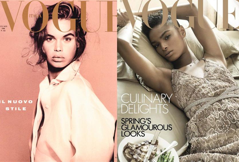 ¿El fin de Steven Meisel + Vogue Italia?