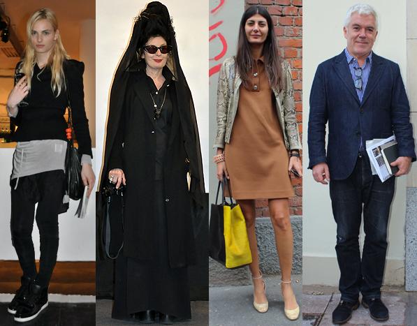 Famosos de la moda y otras personalidades que fueron Look en VisteLaCalle