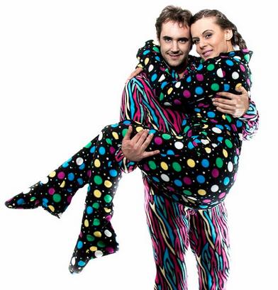 Pijamas con patitas – Ropa de dormir