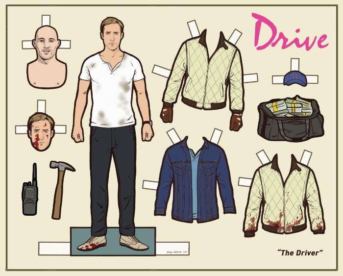 Figurines de papel para vestir a tus personajes favoritos de la mano de Kyle Hilton