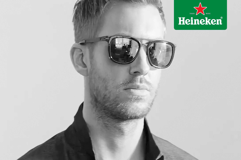 Calvin Harris, el modelo perfecto para Armani #HeinekenLife