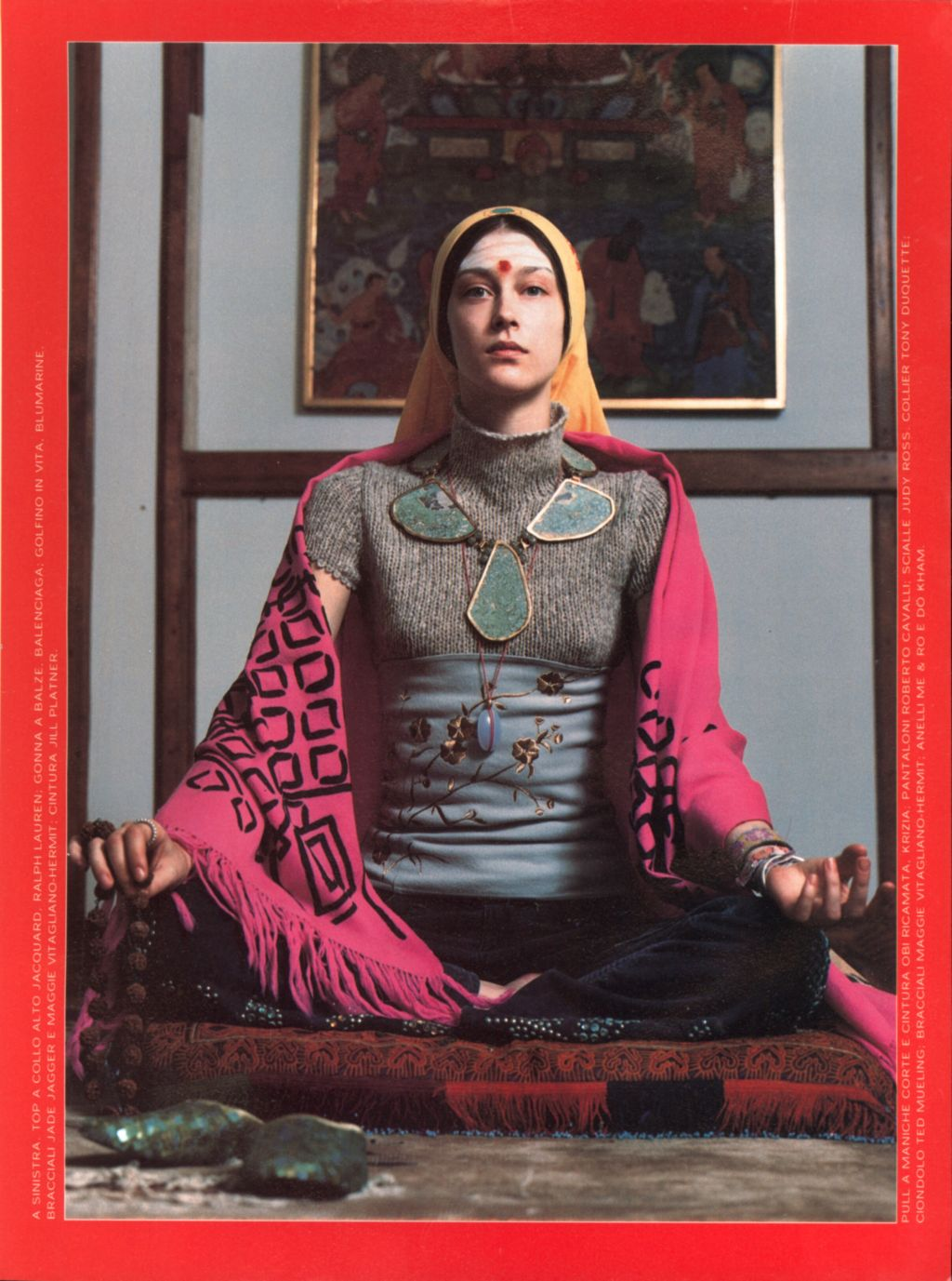 Cuerpo y Alma en Vogue Italia, 1999