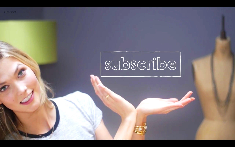 Klossy, el nuevo canal de YouTube de Karlie Kloss donde compartirá aspectos desconocidos de su vida