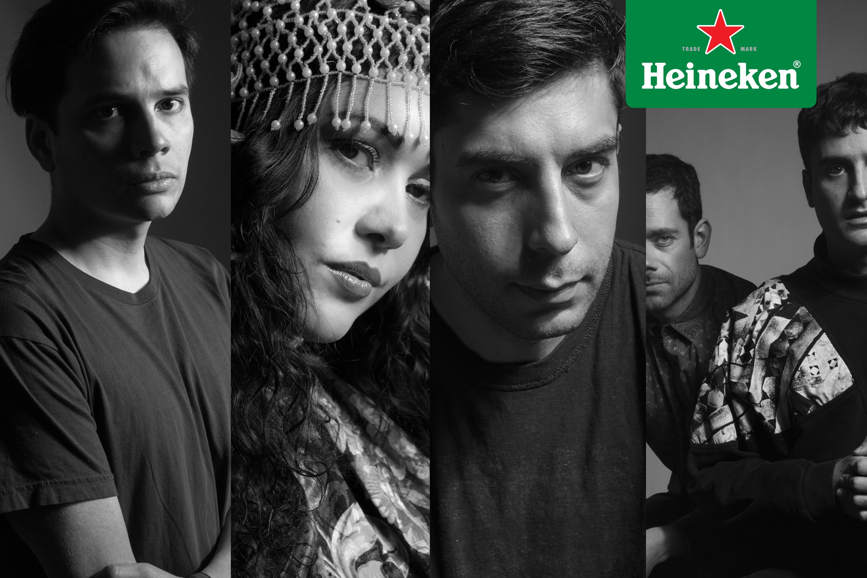 Concurso: Les contamos sobre los artistas que estarán en Technovela, del ciclo de fiestas La Roma #HeinekenLife