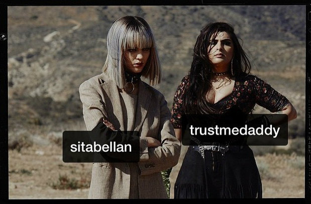 Sanam y Sita Abellán, las cómplices de Rihanna en el video de BBHMM
