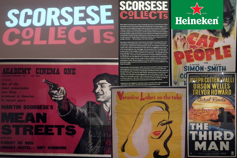 """""""Scorsese Collects"""", pósters de cine clásico de la mano del director en Nueva York #HeinekenLife"""