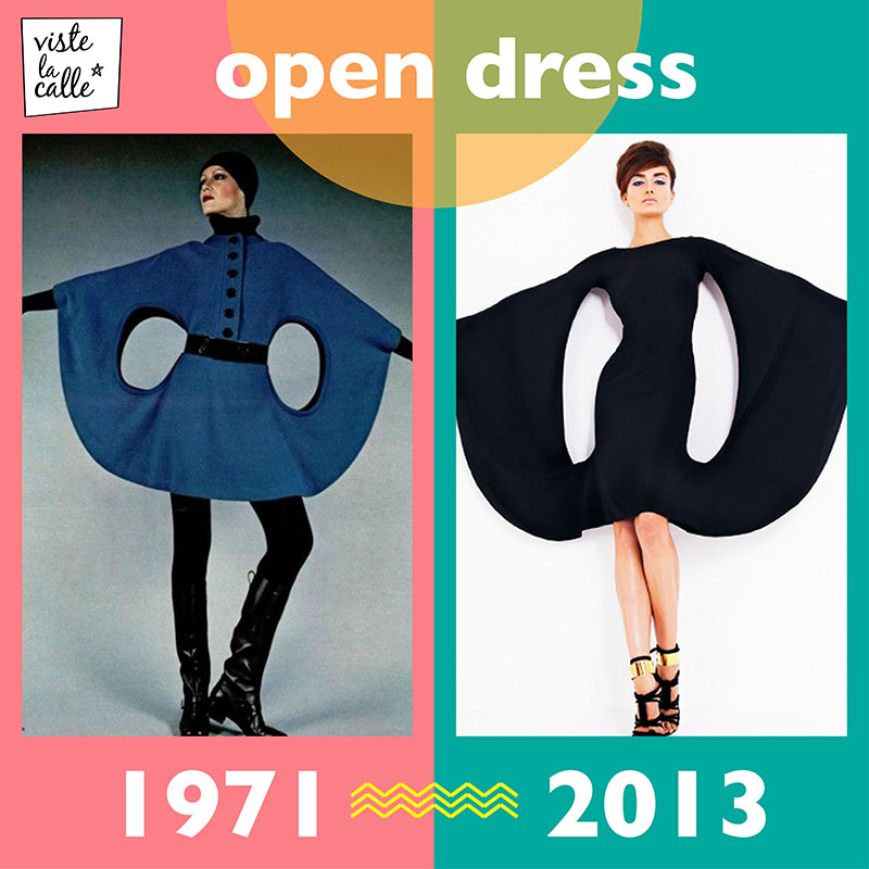 It's not the same but It's the same: Open Dress