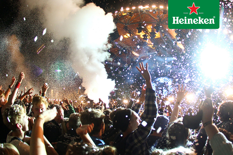 Todo lo que sucedió en Roskilde Festival 2015 gracias a #HeinekenLife