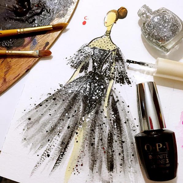 Clayrene Chan: Dibujando la moda con esmaltes de uña