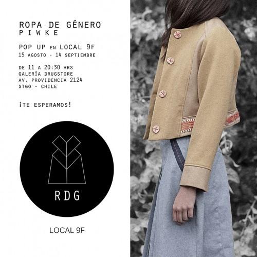 Local 9F tendrá a Ropa de Género como marca invitada para su tienda de diseño de autor en el Drugstore