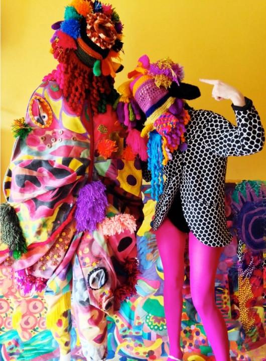 """""""Social Fashion Monster"""", la línea de indumentaria que nace de una artista"""