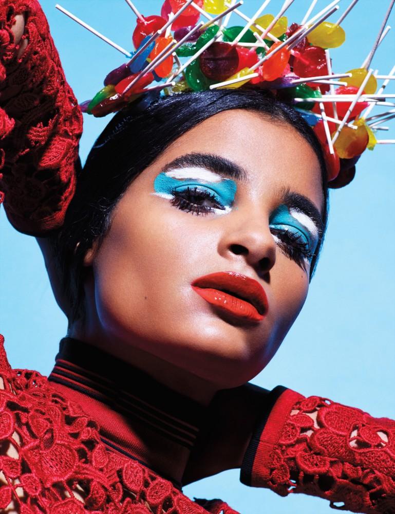 Alexis Primous, la primera modelo ganadora del concurso de la revista W en Instagram