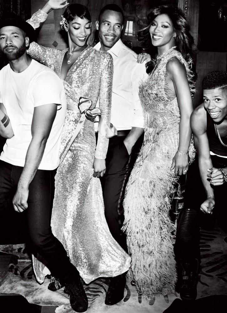"""El fenómeno de """"Empire"""" en una editorial de Vogue, 2015"""