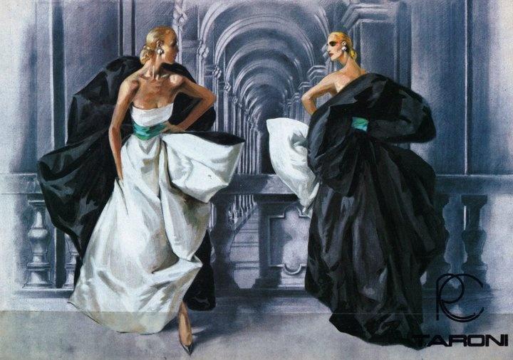 El legendario Stefano Canulli: Ilustración + Diseño de Vestuario