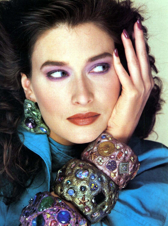 Flashback: Rosemary McGrotha, la modelo emblema de los años '80