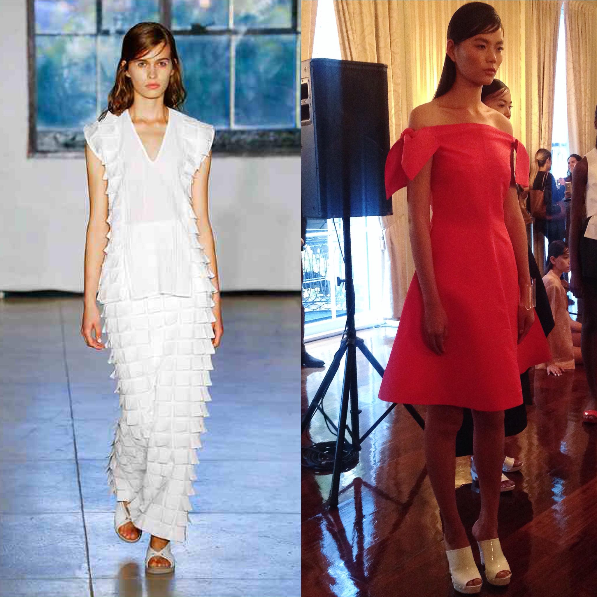 Las propuestas de las chilenas Pola Thomson y Zero + María Cornejo en el New York Fashion Week