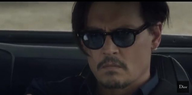 VLC ♥ Dior Sauvage con Johnny Depp