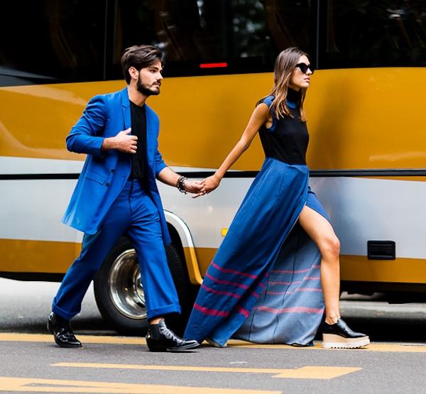 Patricia y Giotto del blog The Atelier, la nueva pareja favorita del street style