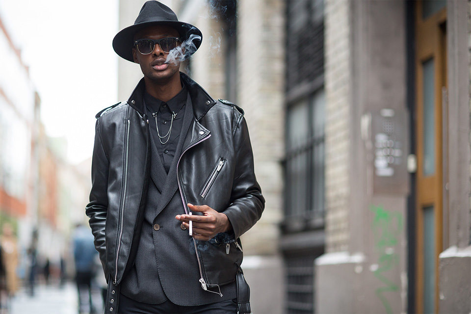 Street style masculino en London Fashion Week SS 2016