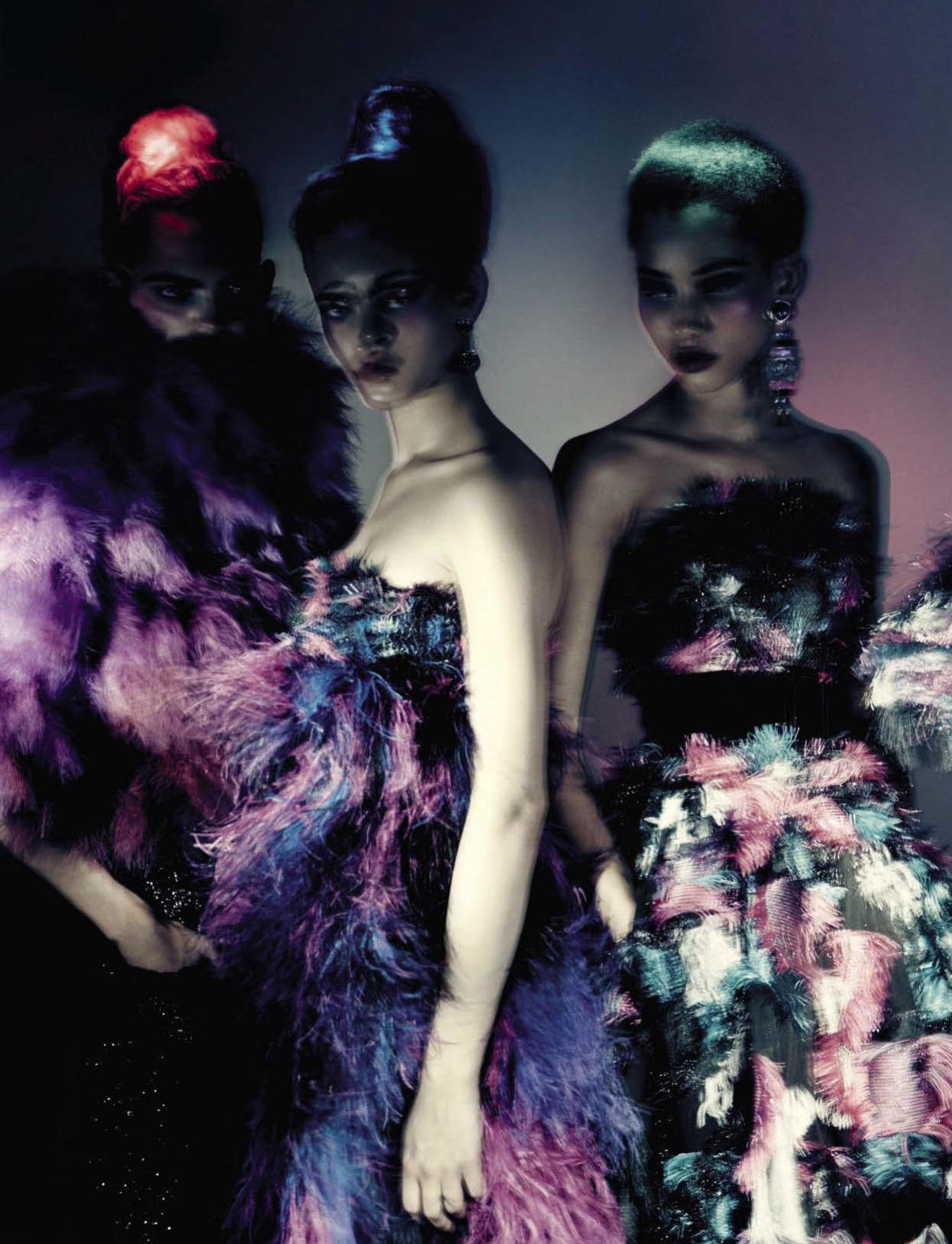 Paolo Roversi y la alta costura para Vogue Italia, 2015
