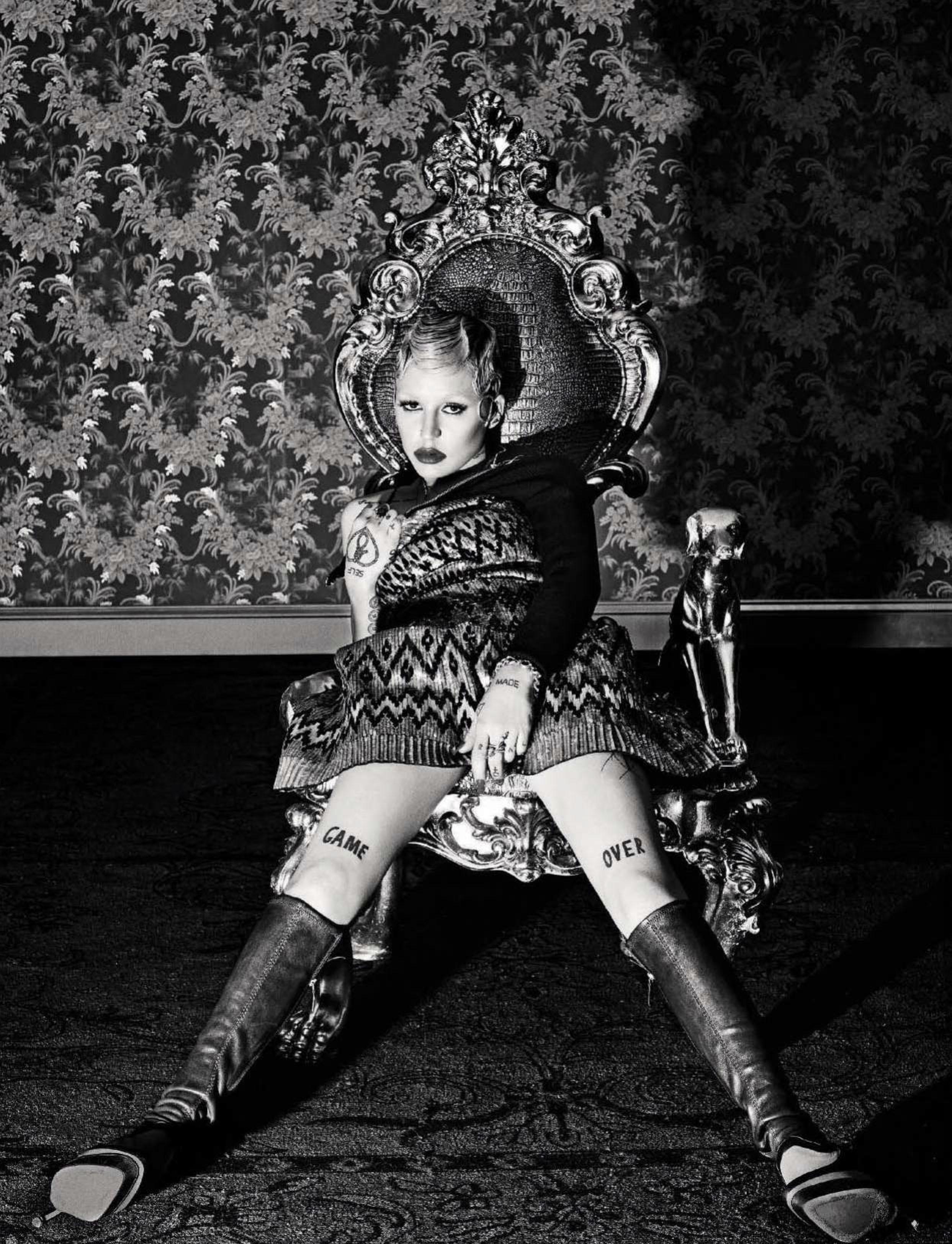 Brooke Candy para Vogue Italia, 2015