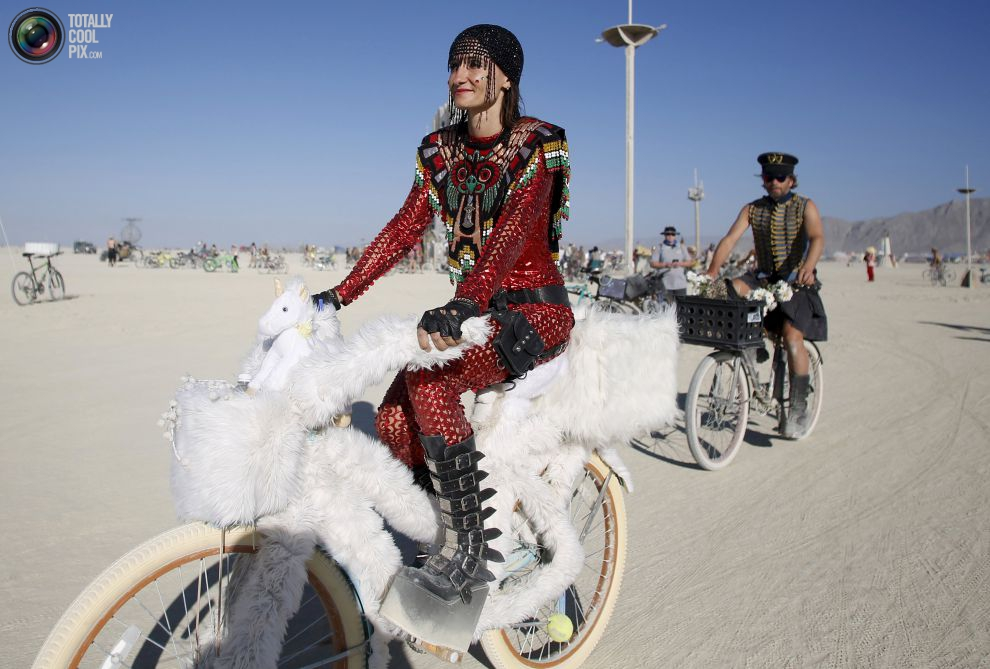 Estilos y looks en Burning Man 2015