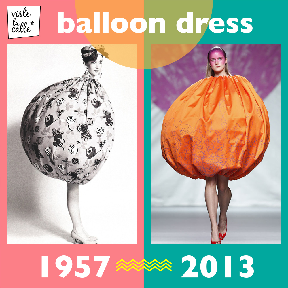 It's not the same but It's the same: Balloon dress