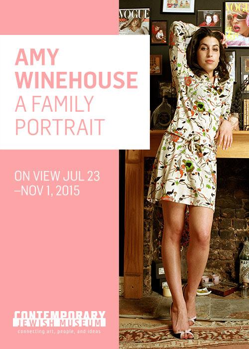 """""""Amy Winehouse: A Family Portrait"""", la exhibición que muestra el lado más íntimo de la cantante"""