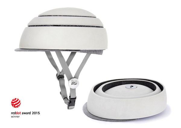 Closca Fuga, el casco plegable que promete revolucionar el ciclismo urbano