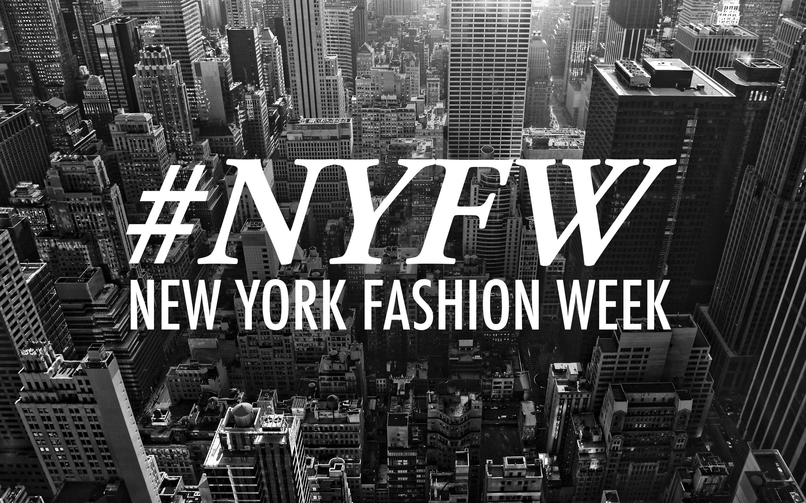 ¡Damos comienzo al New York Fashion Week Primavera/Verano 2016!