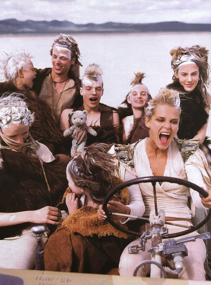 Un homenaje a Mad Max con Carmen Kass, 2000