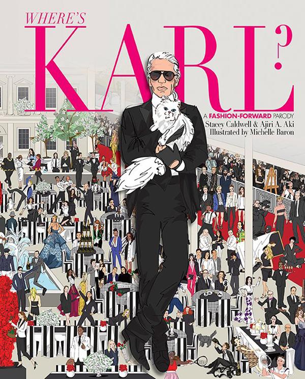 """""""Where's Karl?"""", la versión fashionista de ¿Dónde está Wally?"""