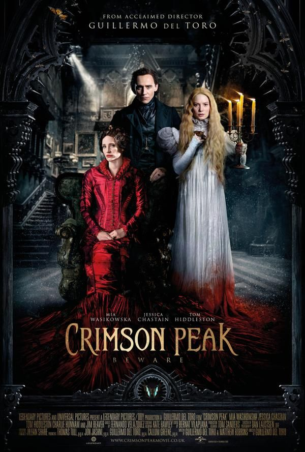 """El vestuario de """"Crimson Peak"""", la nueva película de Guillermo del Toro"""