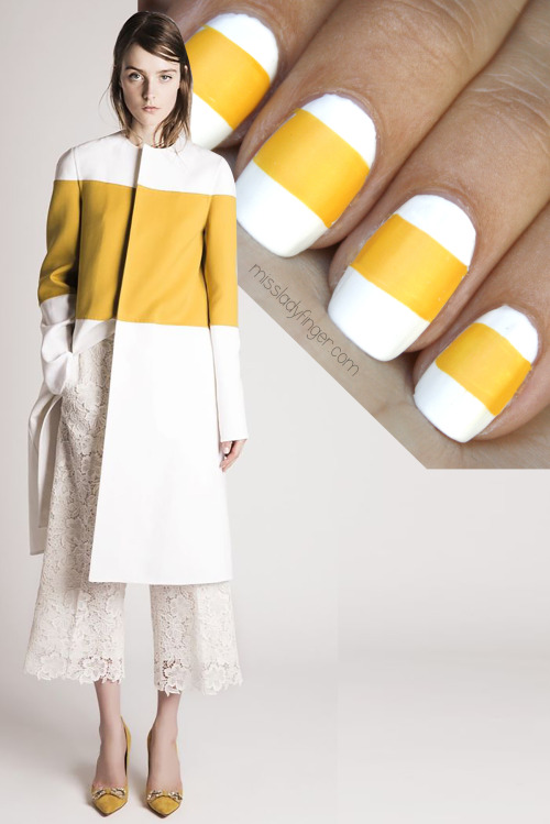 Miss Ladyfinger: Un blog sobre Nail Art y pasarelas