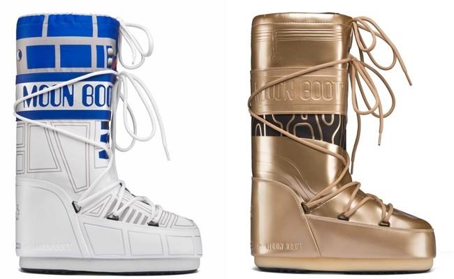 Moon Boots: las botas inspiradas en Star Wars que todas las fashionistas quieren tener
