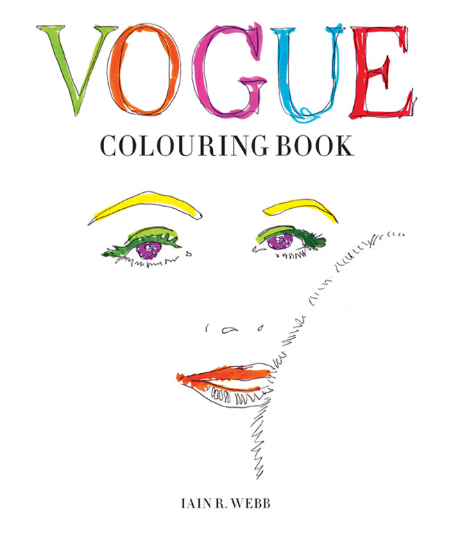 Vogue Coloring Book: El libro para pintar de Vogue UK