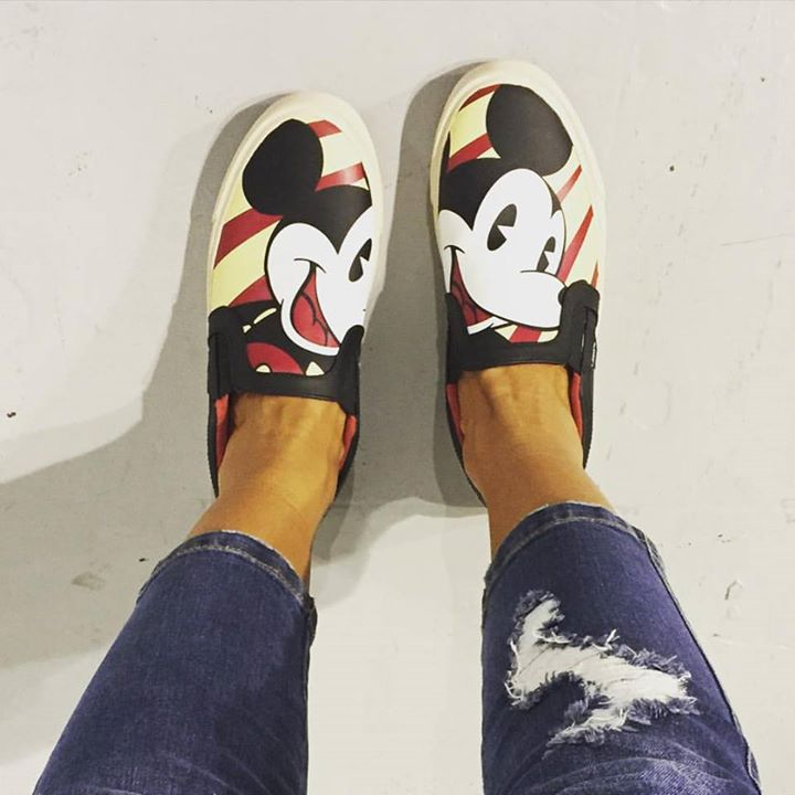La colección Mickey Mouse de zapatillas MOA