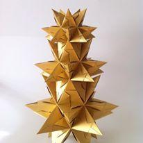 Paper Mess Project – Diseño en origami