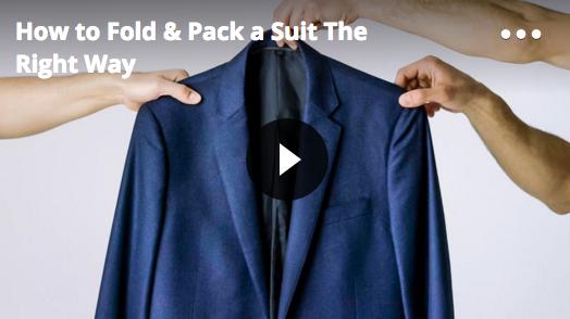 VLC Man: Como doblar y empacar una chaqueta, según GQ