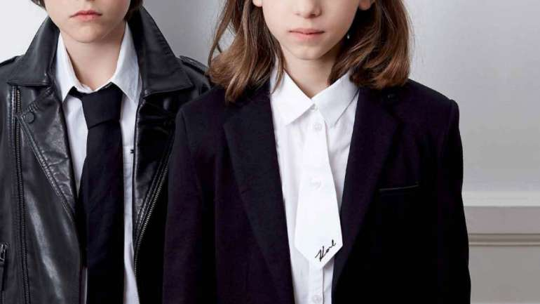 VLC Kids: La primera línea de ropa infantil de Karl Lagerfeld