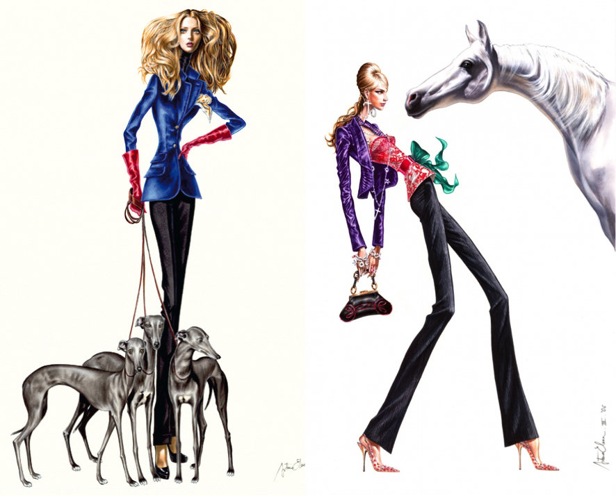Arturo Elena: Tejidos palpables en el surrealismo de una ilustración realista