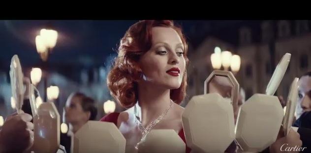 VLC ♥ Karen Elson y Cartier homenajean a Marilyn Monroe