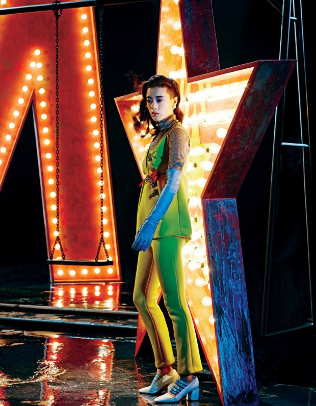 Moda sobre luces, Marie Claire 2015